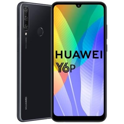 Смартфон Huawei Y6P 3/64Gb черный