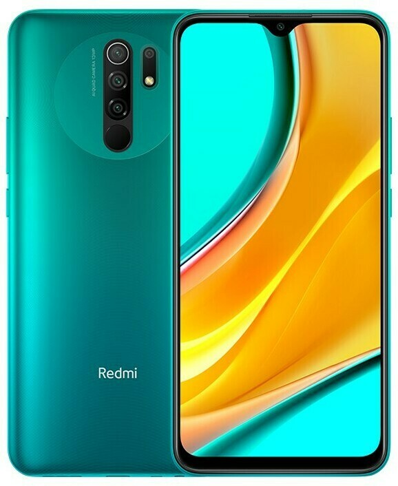 Смартфон Xiaomi Redmi 9 4/64Gb зеленый