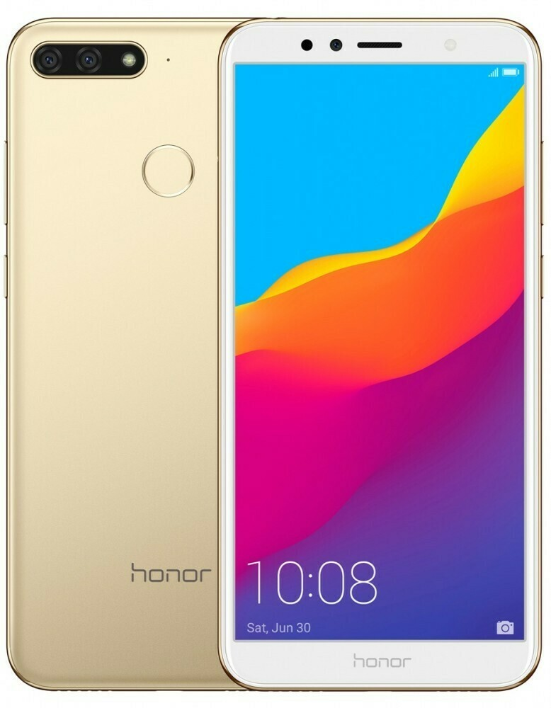 Смартфон Huawei Honor 7C 3/32Gb золотистый