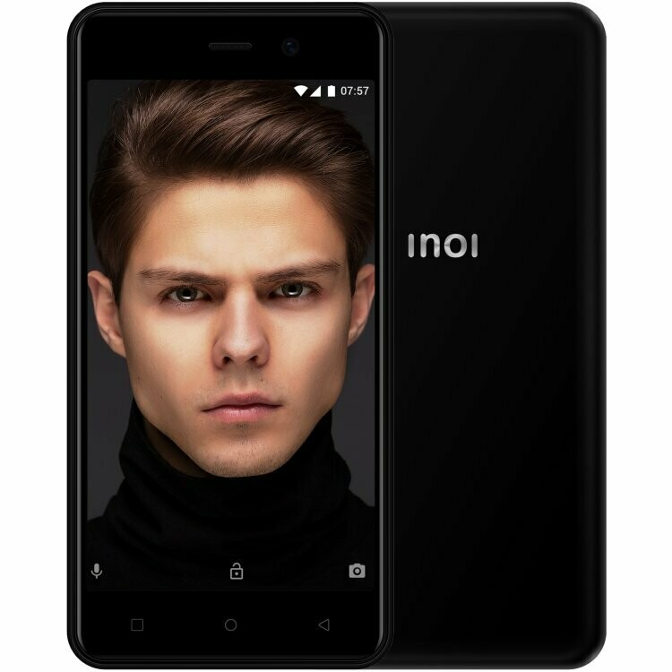 Смартфон INOI 2 Lite (2019) 1/8Gb черный