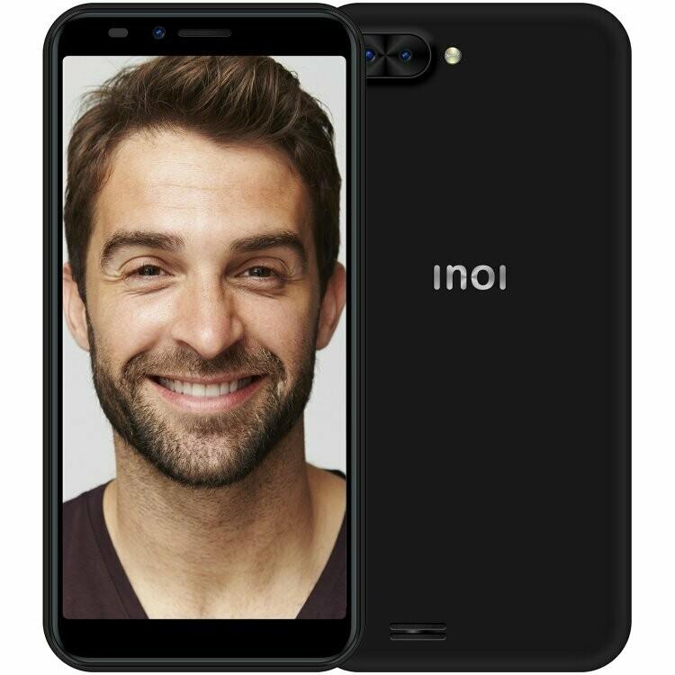 Смартфон INOI 5i Lite (2018) 1/8Gb черный