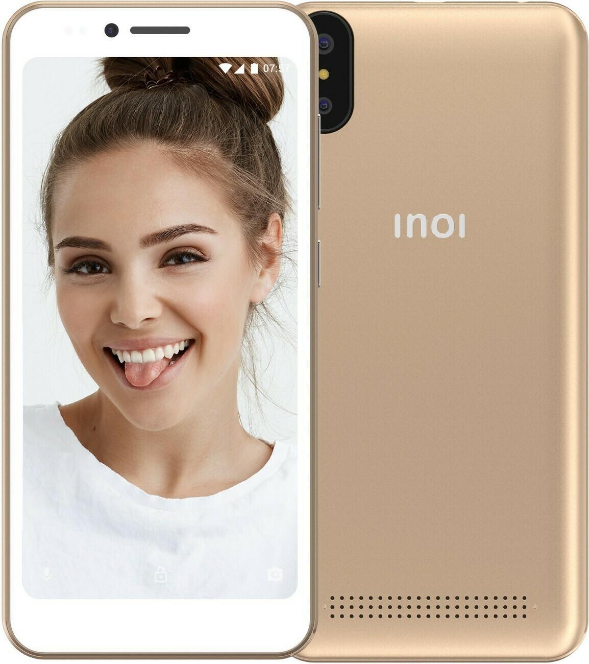 Смартфон INOI 3 Lite 1/8Gb золотой
