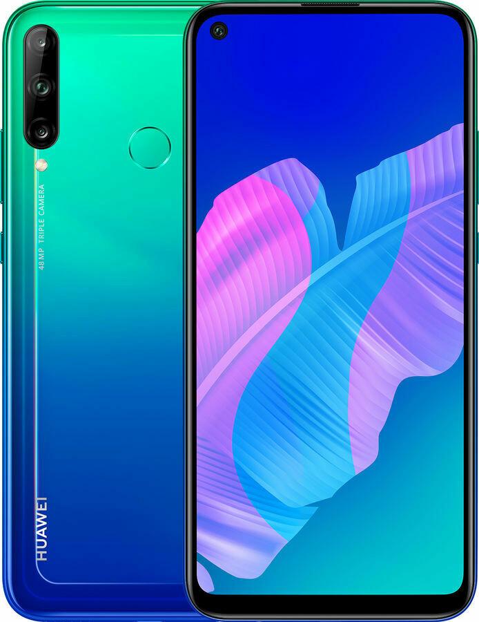 Смартфон Huawei P40 Lite E 4/64Gb синий