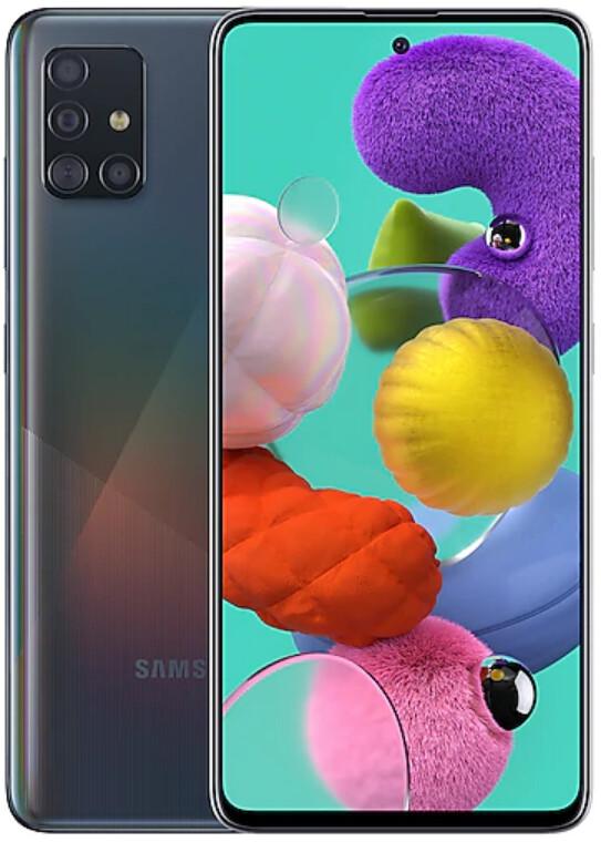 Смартфон Samsung Galaxy A51 6/128Gb черный