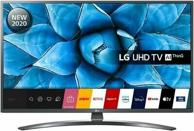 Телевизор LG 49UN74006LA серый
