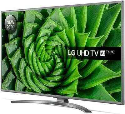 Телевизор LG 43UN81006LB серый