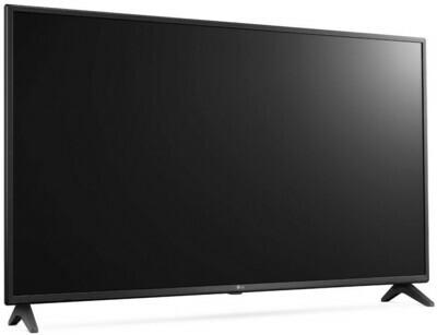 Телевизор LG 49UK6200PLA черный