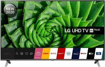 Телевизор LG 55UN80006LA серый