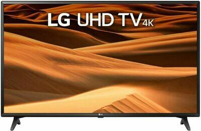 Телевизор LG 43UM7020PLF черный