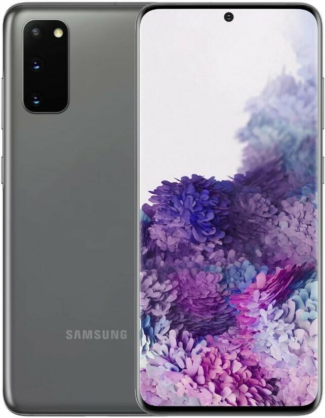 Смартфон Samsung Galaxy S20 (G980) 8/128Gb серый