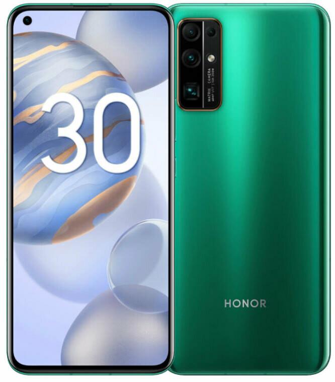Смартфон Huawei Honor 30 8/128Gb зеленый
