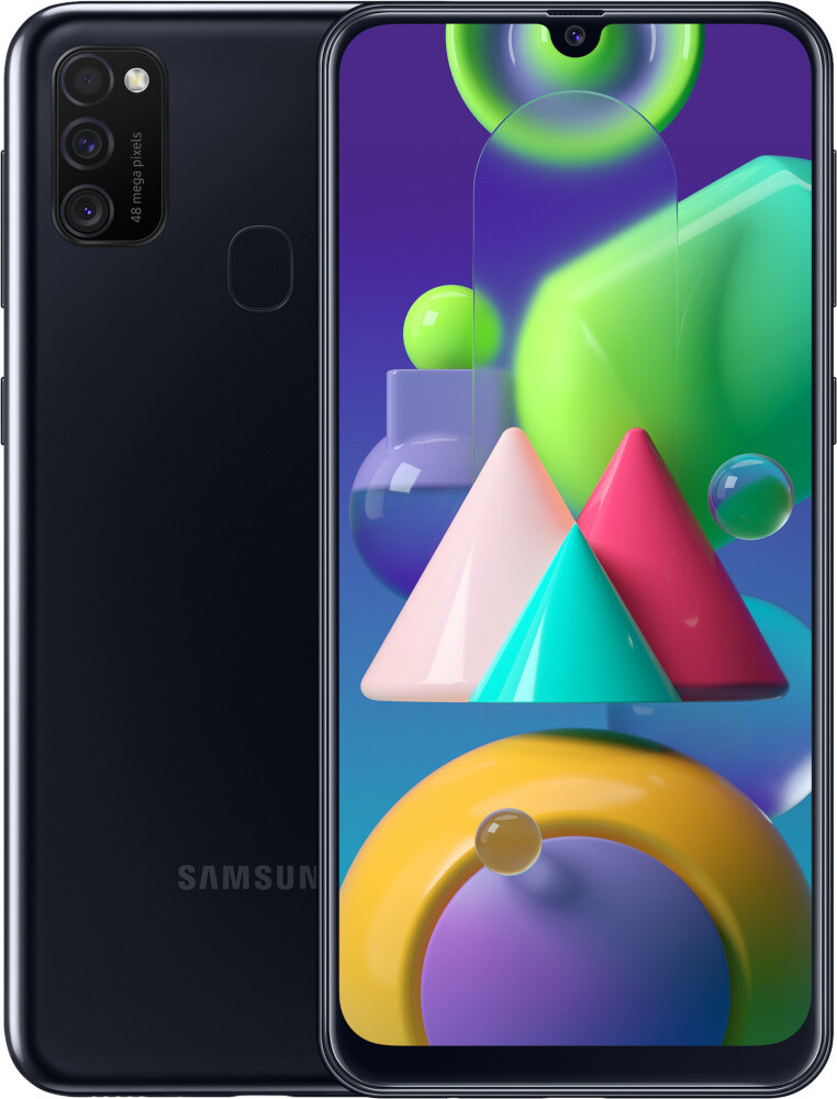 Смартфон Samsung Galaxy M21 4/64GB черный