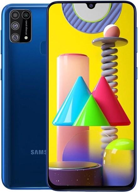 Смартфон Samsung Galaxy M31 6/128Gb синий