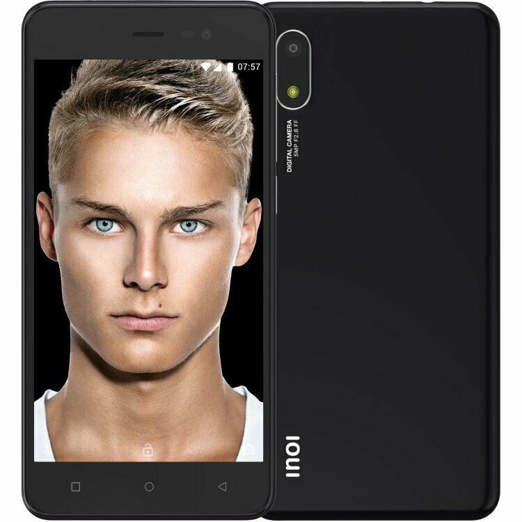 Смартфон INOI 2 Lite (2021) 1/16Gb черный