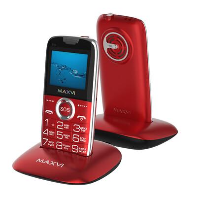 Сотовый телефон Maxvi B10 красный