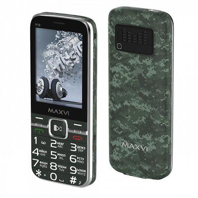 Сотовый телефон Maxvi P18 милитари