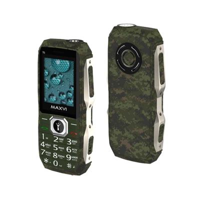 Сотовый телефон Maxvi T5 милитари