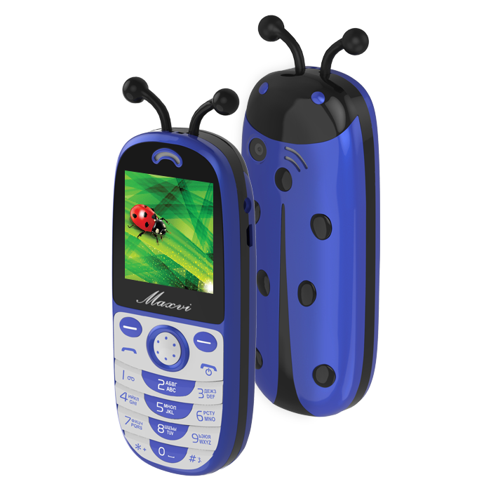 Сотовый телефон Maxvi J3 синий