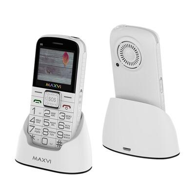 Сотовый телефон Maxvi B5 белый