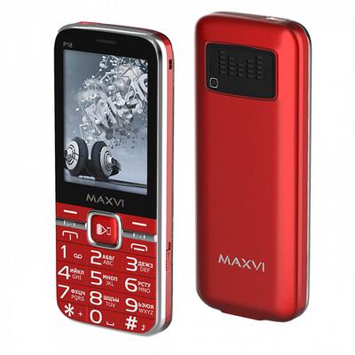 Сотовый телефон Maxvi P18 красный