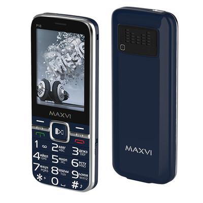 Сотовый телефон Maxvi P18 синий
