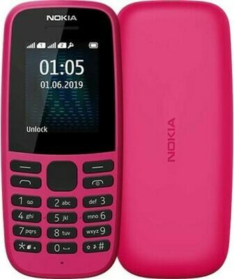 Сотовый телефон Nokia 105 красный