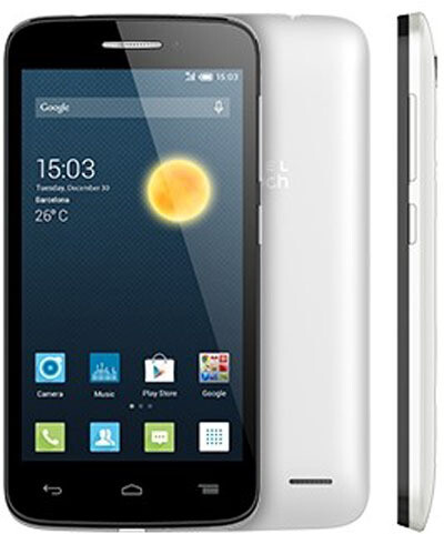 Смартфон Alcatel One Touch Pop 2 5042D 1/8Gb черный/белый