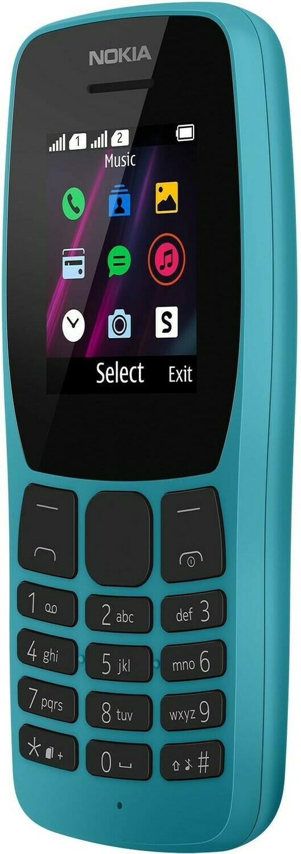 Сотовый телефон Nokia 110 синий