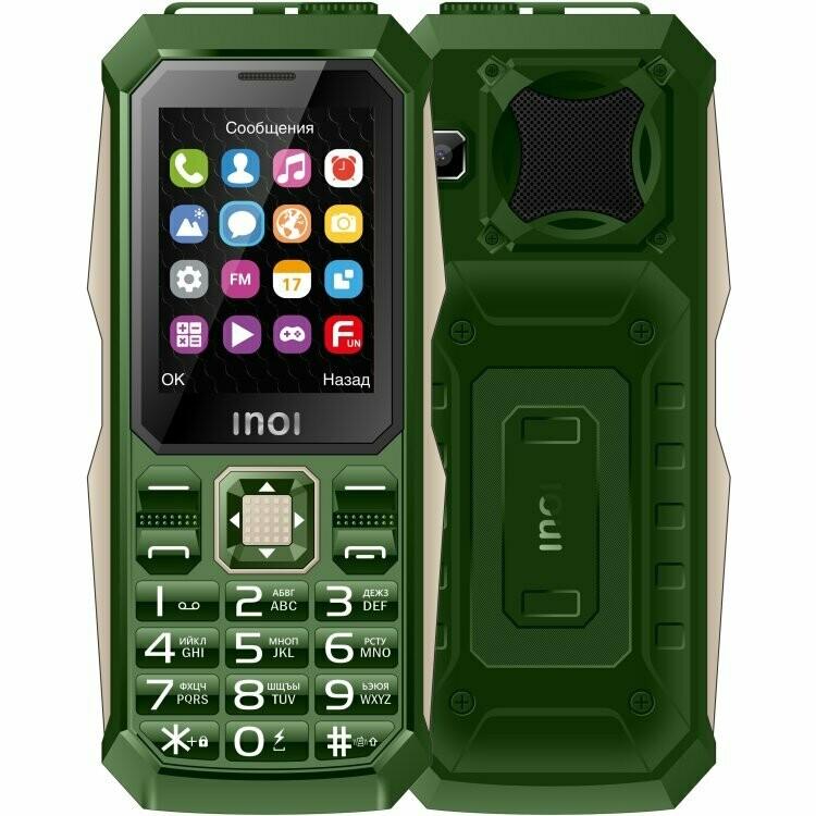 Сотовый телефон INOI 246Z хаки