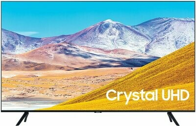 Телевизор Samsung UE65TU8000UXRU черный