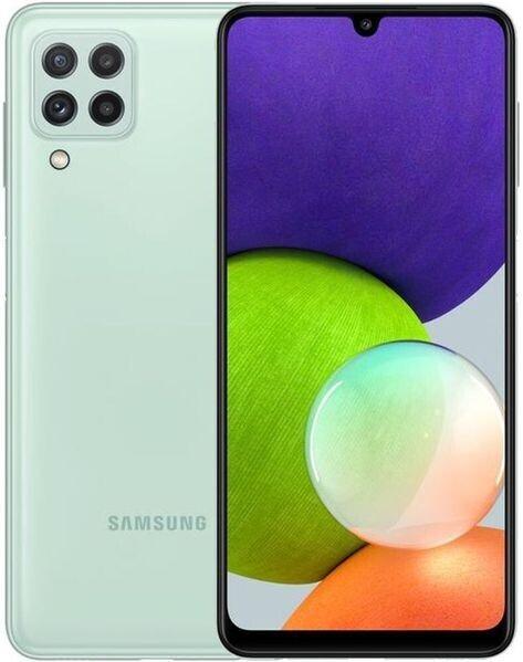 Смартфон Samsung Galaxy A22 4/64Gb зеленый