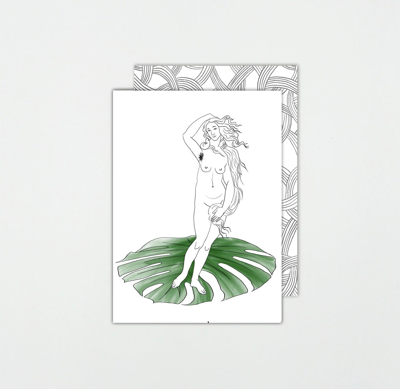 SOMAJ | HIPSTER VENUS card