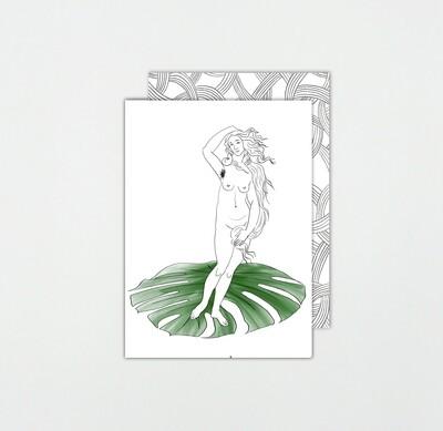 SOMAJ   HIPSTER VENUS card