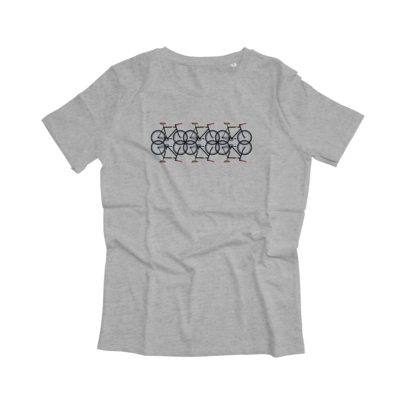 Joh Clothing | Bicycle T-shirt Men (available in grey and white)