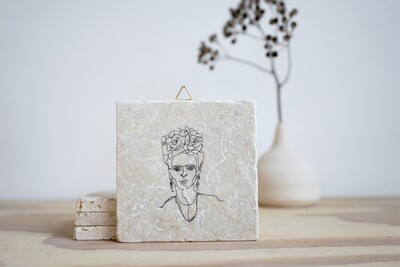 evimstore | Printed Natural Stone Tile - Minimalismus-Frida