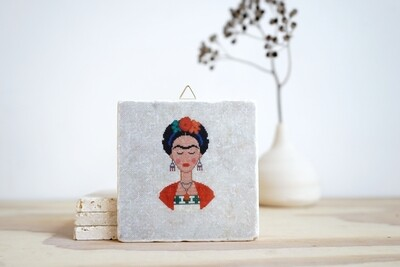 evimstore | Printed Natural Stone Tile - Pixelfrida