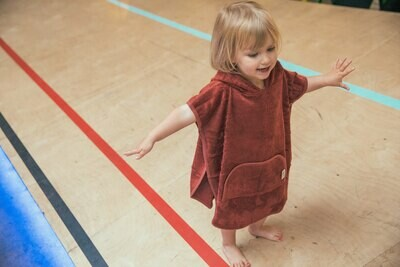 TIMBOO | Bambus Poncho Baby und Kids (available in different colors)