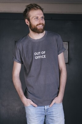 Joh Clothing | Out Of Office T-shirt Grey Unisex (available in different colours)