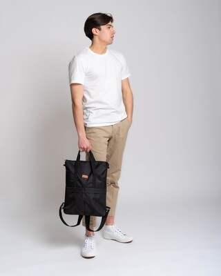 MULINU   Backpack GRETA classic black