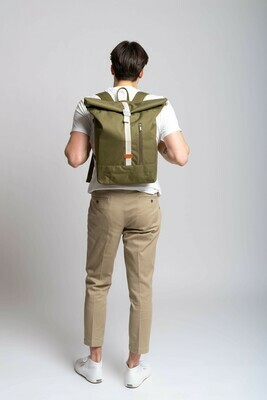 MULINU   Backpack ALBERT classic olive green