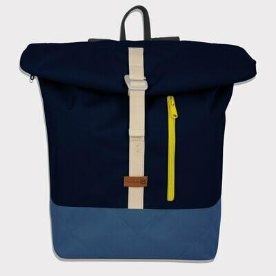 MULINU   Backpack ALBERT blue light blue