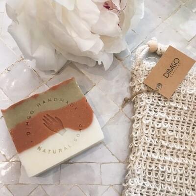 Dimgo | Handmade Natural Soap - Blood orange and lemongrass