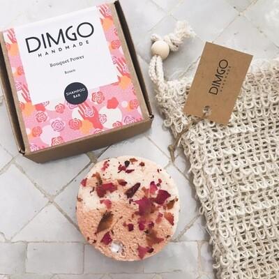 Dimgo | Handmade Natural Shampoo Bar - Roses