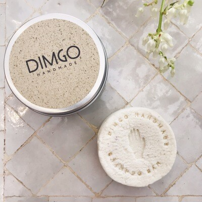 Dimgo | Aludose with Loofah for Shampoo or Butter Bar