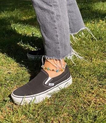 evankrumah | Pastel Stones Anklet - Foot Bracelet