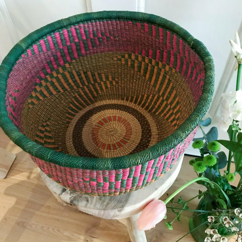 Olá Lindeza | Fair Trade Storage or Plant Bolga Basket