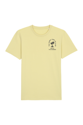 Joh Clothing | The Sunny Side Up Club T-shirt - Yellow