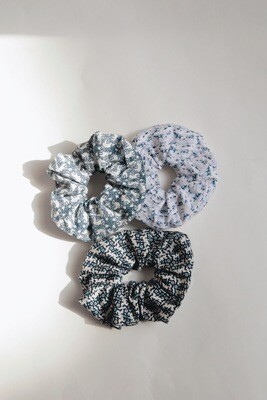 Nyra Design | Sal Cotton Scrunchie (available in three different patterns)