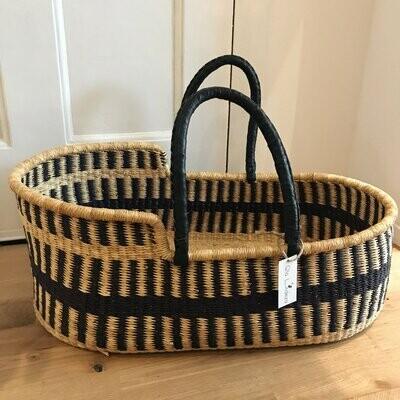 Olá Lindeza | Route woven baby moses basket