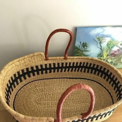 Olá Lindeza | Empire woven baby moses basket